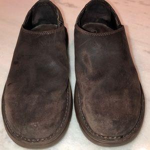 Dark brown Chaco men's slip on shoes sz 12